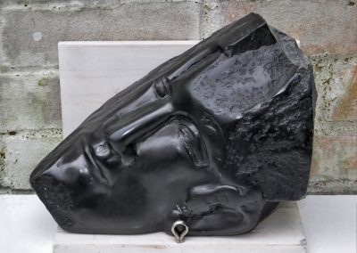 Egyptian Head, carved Polyphant