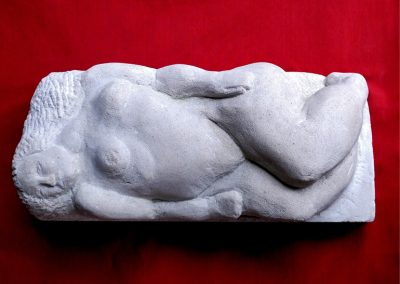 Reclining Figure (Portland stone)
