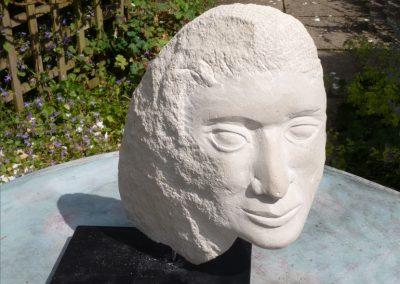 Head, Portland stone
