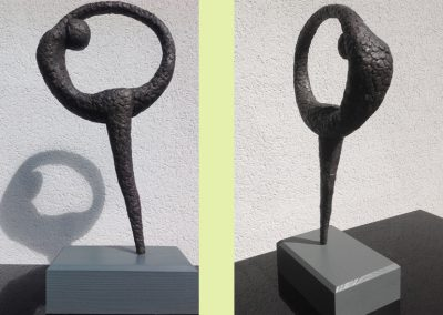 Dancer (ciment fondu) Indoor sculpture 60x20x30cm. POA