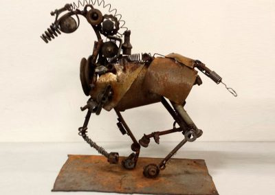 Horse Power, recycled metal