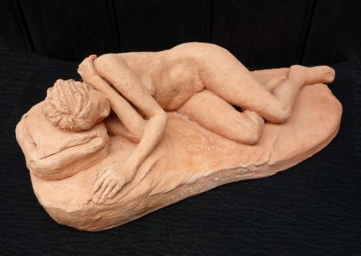 Sleeping Nude, terracotta
