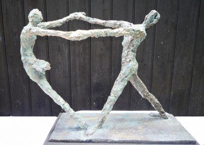 Dancers, ciment fondu