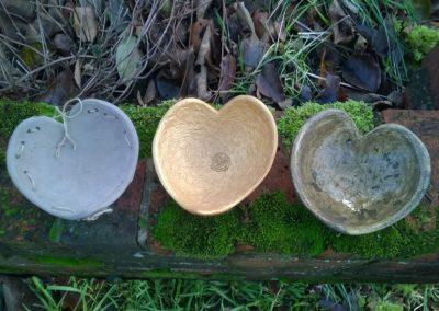 Three Hearts, ciment fondu