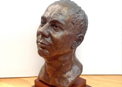 Portrait Head, cold cast bronze (private collection)