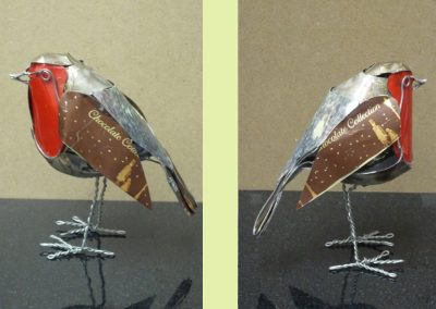Robin, wire & tin (sold)